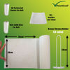 Picture of Eco Friendly Reusable Practicool White Washable Bamboo Kitchen Towels with Chrome Holder
